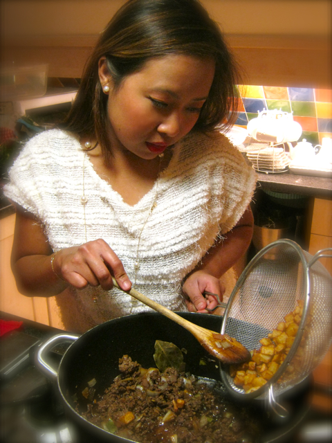 Macanese Minchi Stir Fried Minced Beef With Potatoes And
