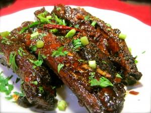 Cantonese Pork Ribs