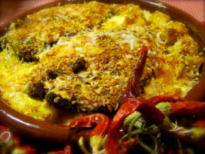 Macanese Baked Porkchop Rice