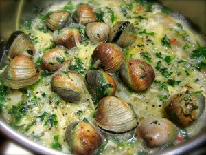 Clams Cook in Beer ,Drunken Clams